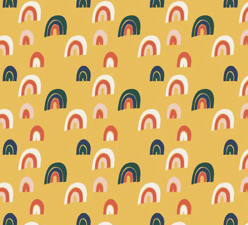 6c5bbcbed4d21a Tee-shirt ML femme rainbow jaune - 34-46