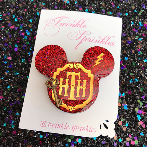 Tower of Terror inspired Brooch / Necklace