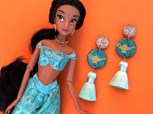 Jasmine Inspired Statement Earrings