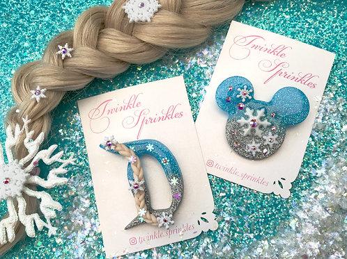 Elsa inspired Brooch / Necklace