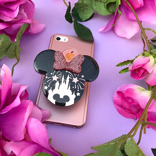Large Rose Gold Castle Inspired Phone Grip