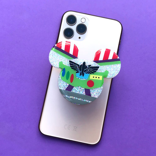 Large Buzz Inspired Phone Grip