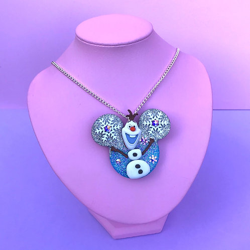 Frozen Inspired Brooch / Necklace