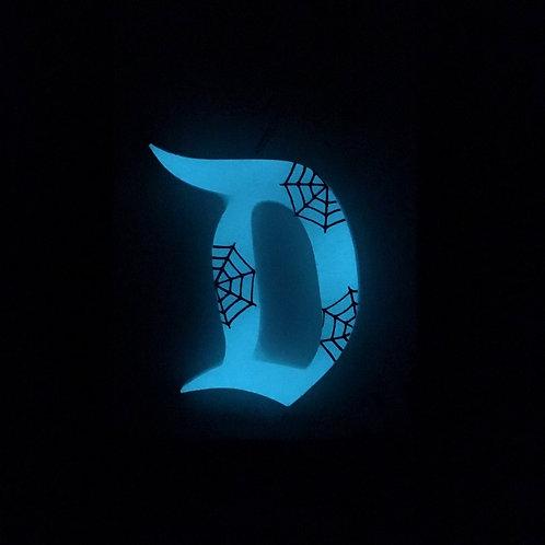 GLOW Cobweb D Brooch / Necklace