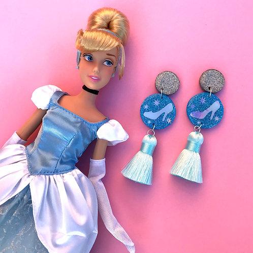 Cinderella Inspired Statement Earrings