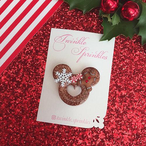 Heart Cutout Brooch / Necklace