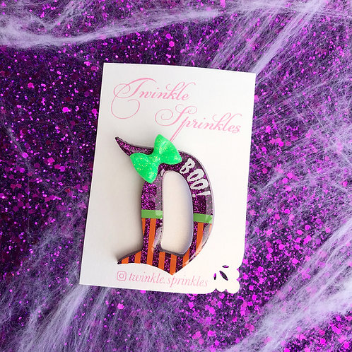 Mickey ''BOO To You'' halloween inspired Brooch / Necklace