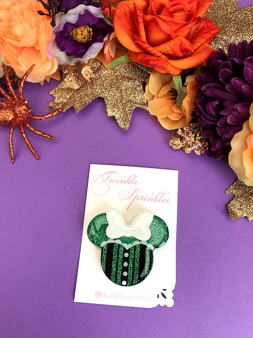 Haunted Mansion Inspired Brooch / Necklace