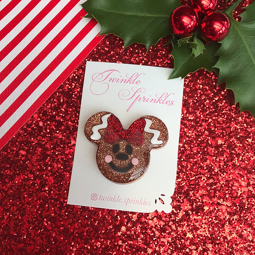 Gingerbread lady Brooch / Necklace