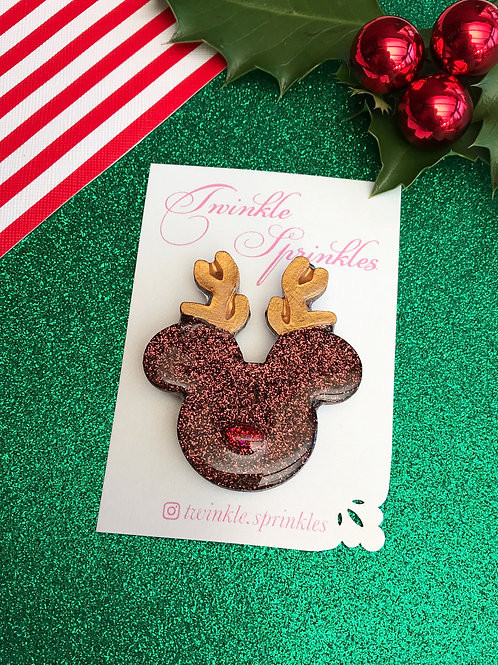 Rudolf inspired Brooch / Necklace