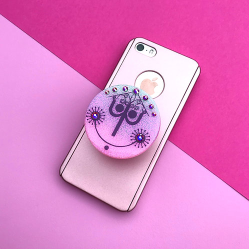 It's A Small World Inspired Phone Grip