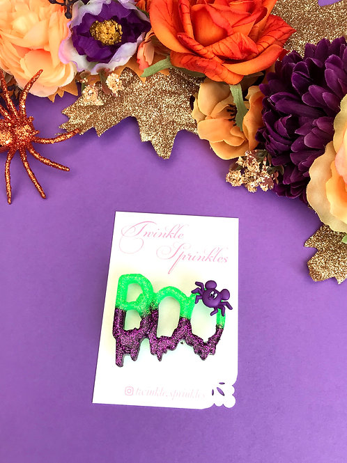 BOO To You Brooch