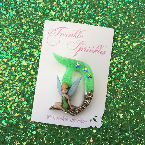 Tinkerbell inspired Brooch / Necklace