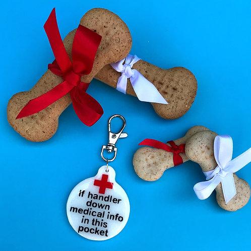 Medical Assistance Dog Tag