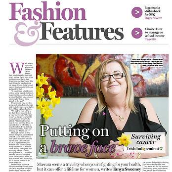 Look Good Feel Better Article in Irish I