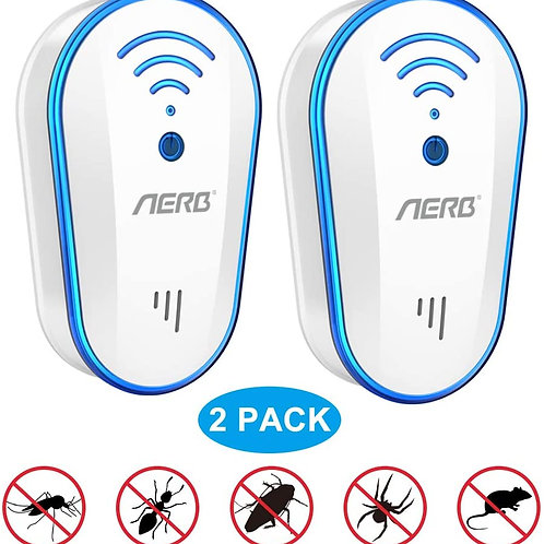 [2019 Upgraded ] Ultrasonic Pest Repeller, Aerb 10W Plug-in Insect Repeller