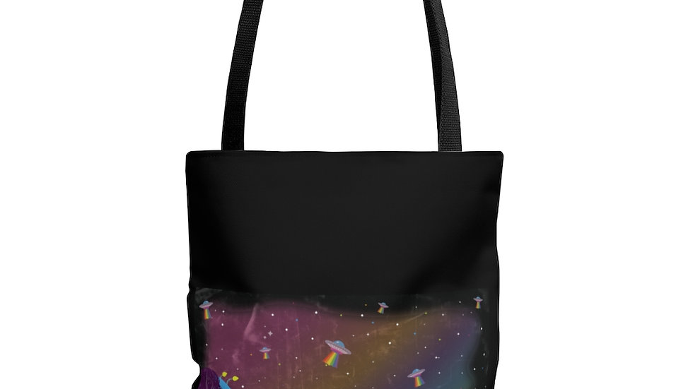 AOP Small Tote Bag