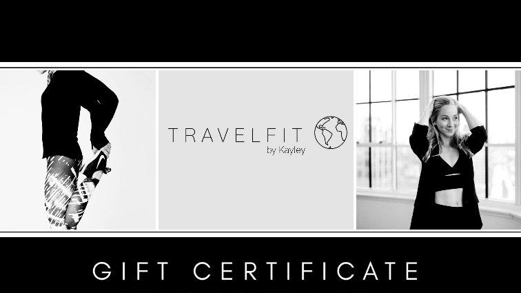 Travelfit by Kayley Gift Voucher $50