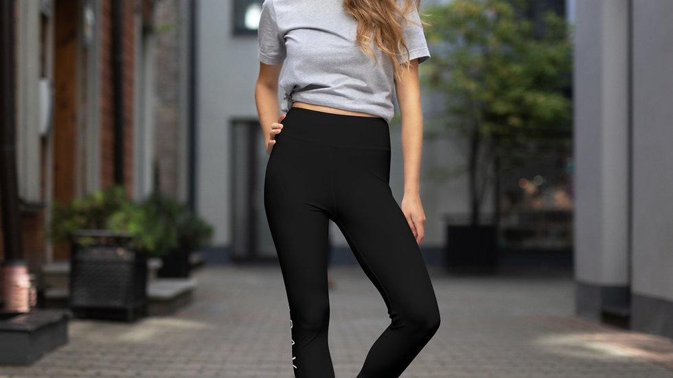TRAVELFIT BLACK Yoga Leggings
