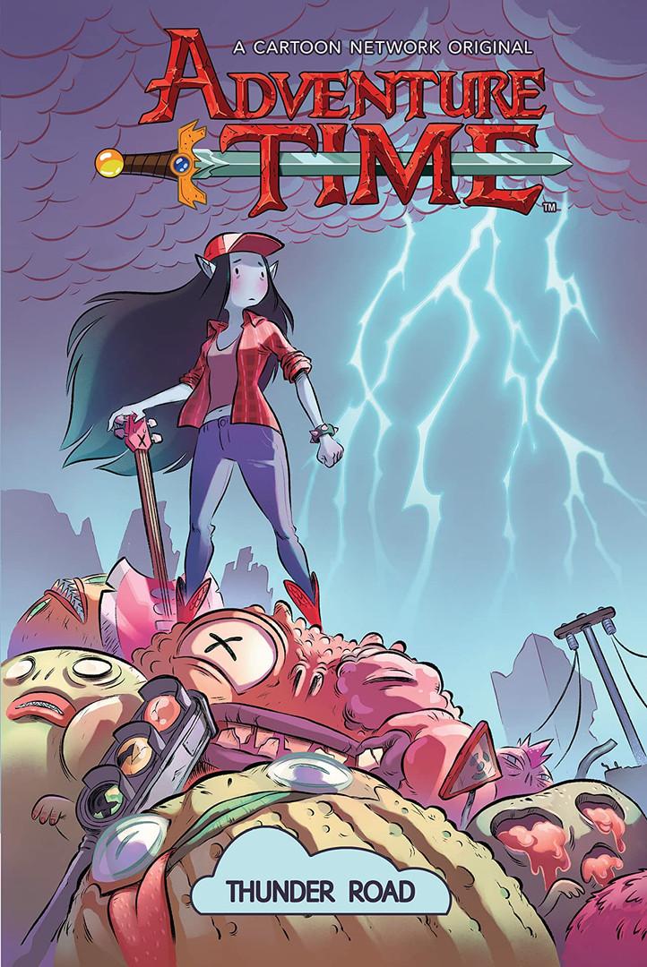 Adventure Time Thunder Road Cover.jpg