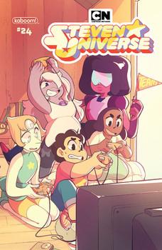 Steven Universe Preorder Cover 24 Souto.