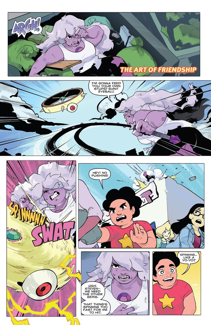 Steven Universe Fusion Frenzy The Art of