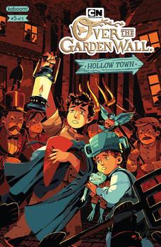 Over the Garden Wall Hollow Town Cover 5