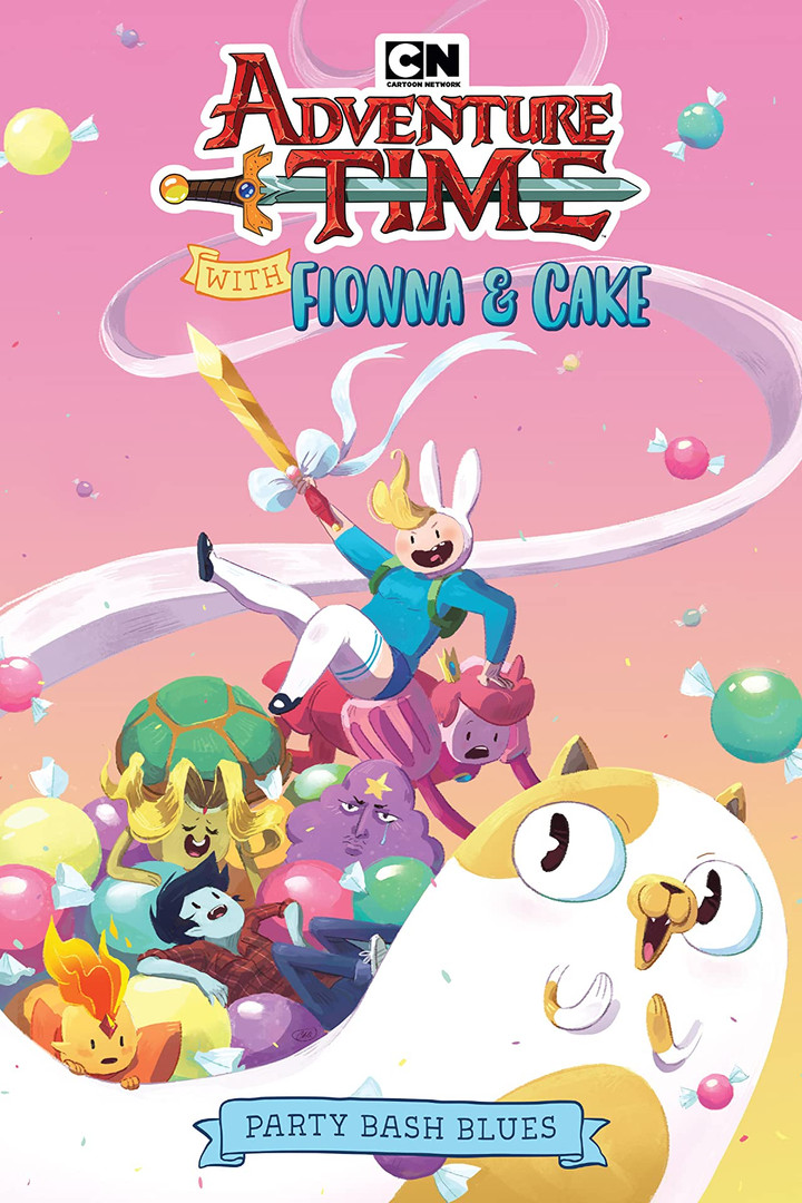 Adventure Time Fionna & Cake OGN cover.j