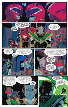 Mighty Morphin Power Rangers #29 Page 1.