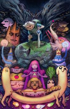 Adventure Time Season 11 Preorder Cover