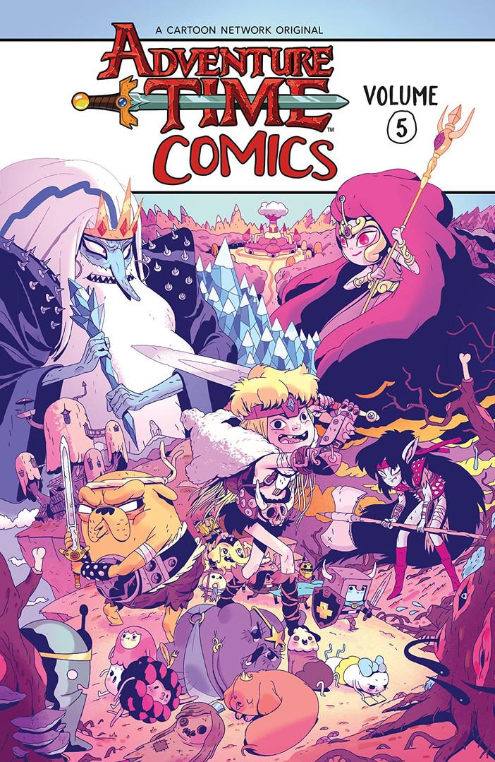 Adventure Time Comics Vol 5 Cover.jpg
