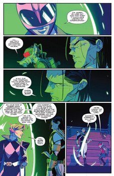 Mighty Morphin Power Rangers #29 Page 3.