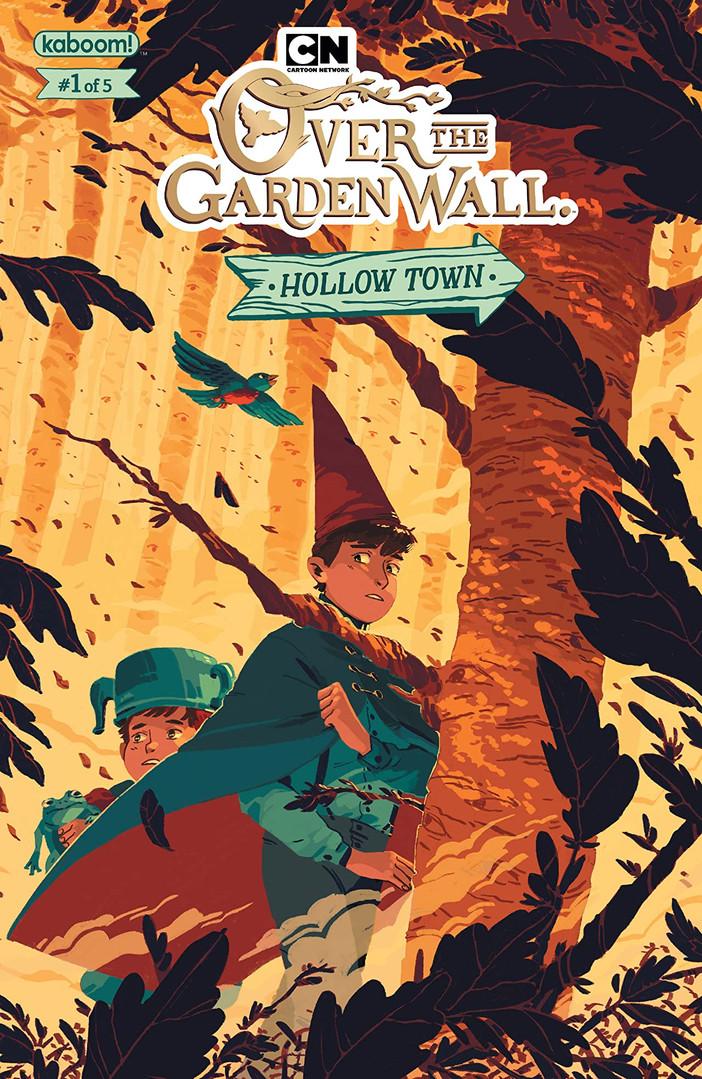 Over the Garden Wall Hollow Town Cover 1