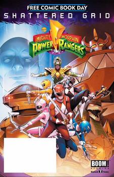 Mighty Morphin Power Rangers FCBD 2018 C