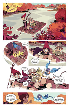 Over the Garden Wall Hollow Town Page 1.