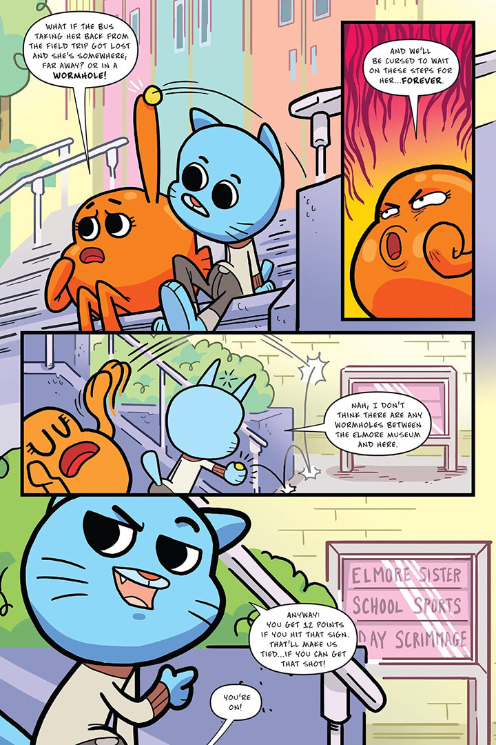 Amazing World of Gumball OGN 4 Page 3.jp