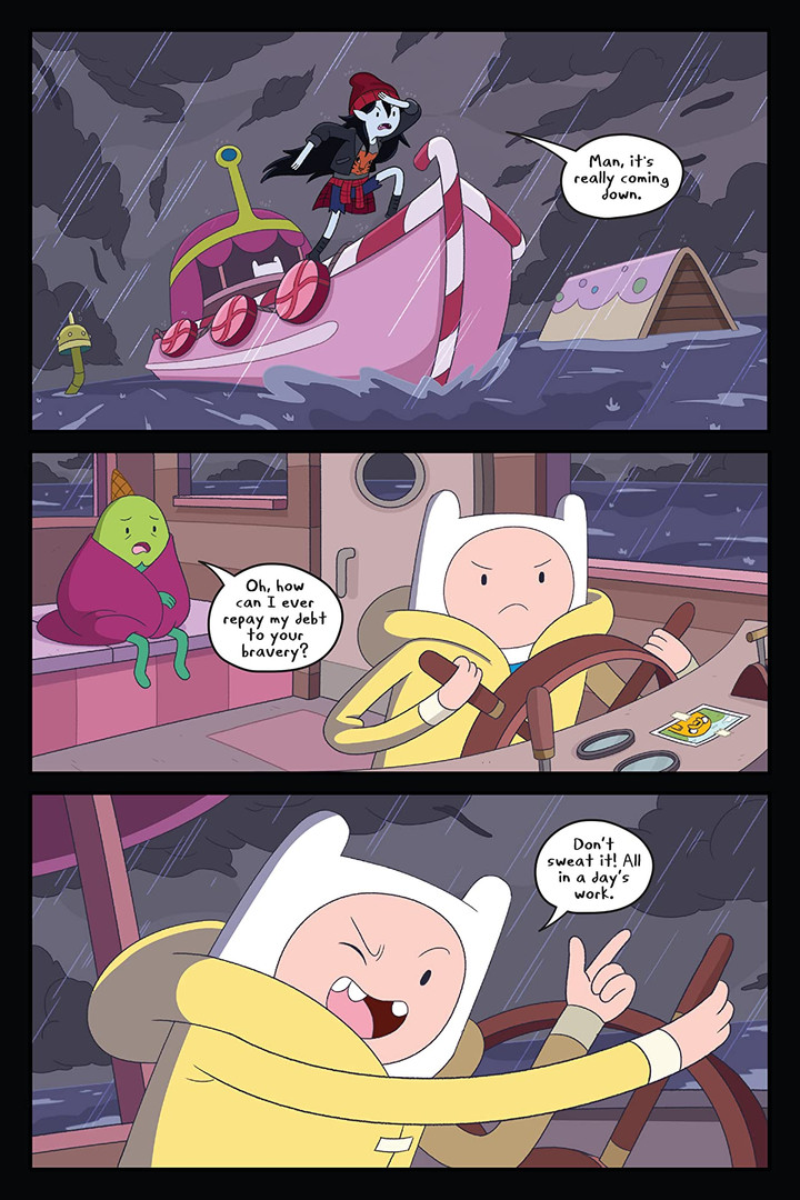 Adventure Time Thunder Road Page 1.jpg