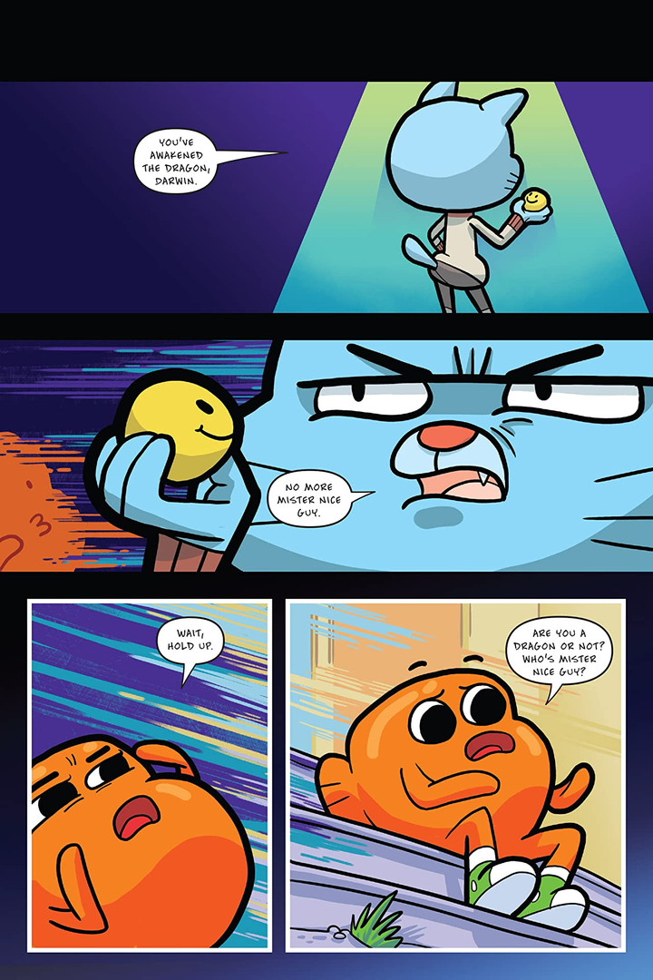 Amazing World of Gumball OGN 4 Page 1.jp