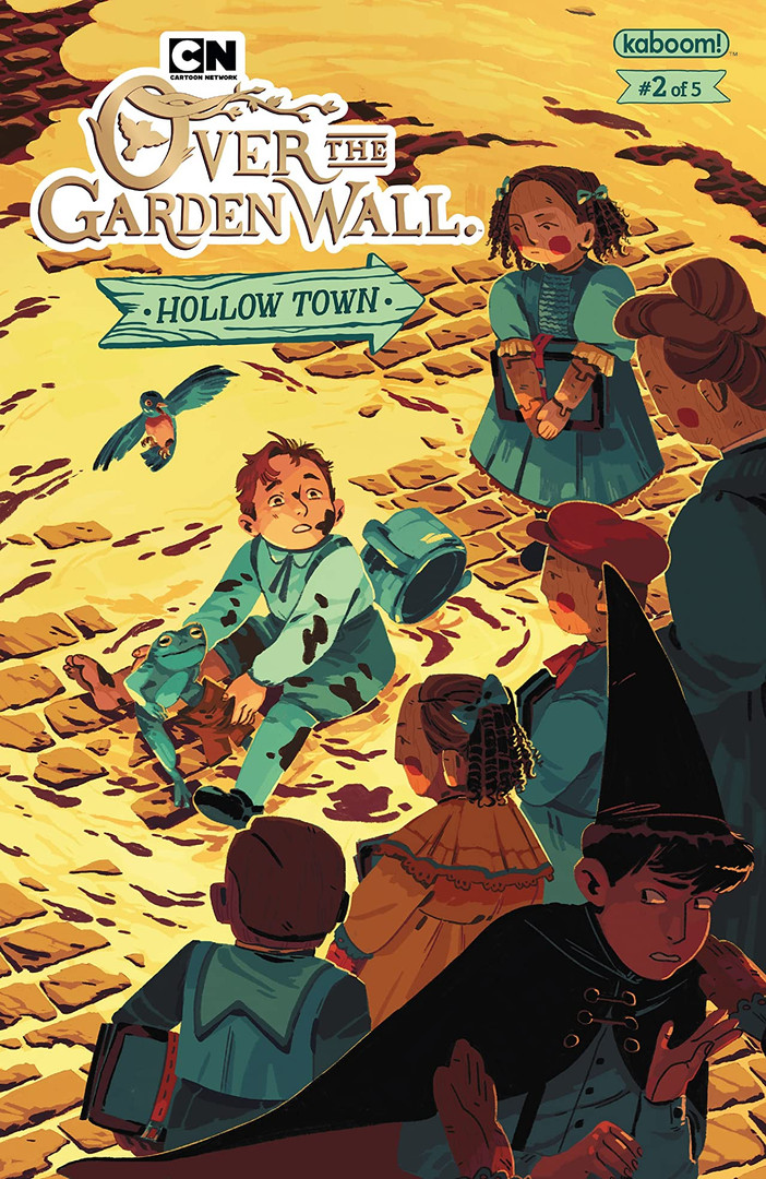 Over the Garden Wall Hollow Town Cover 2