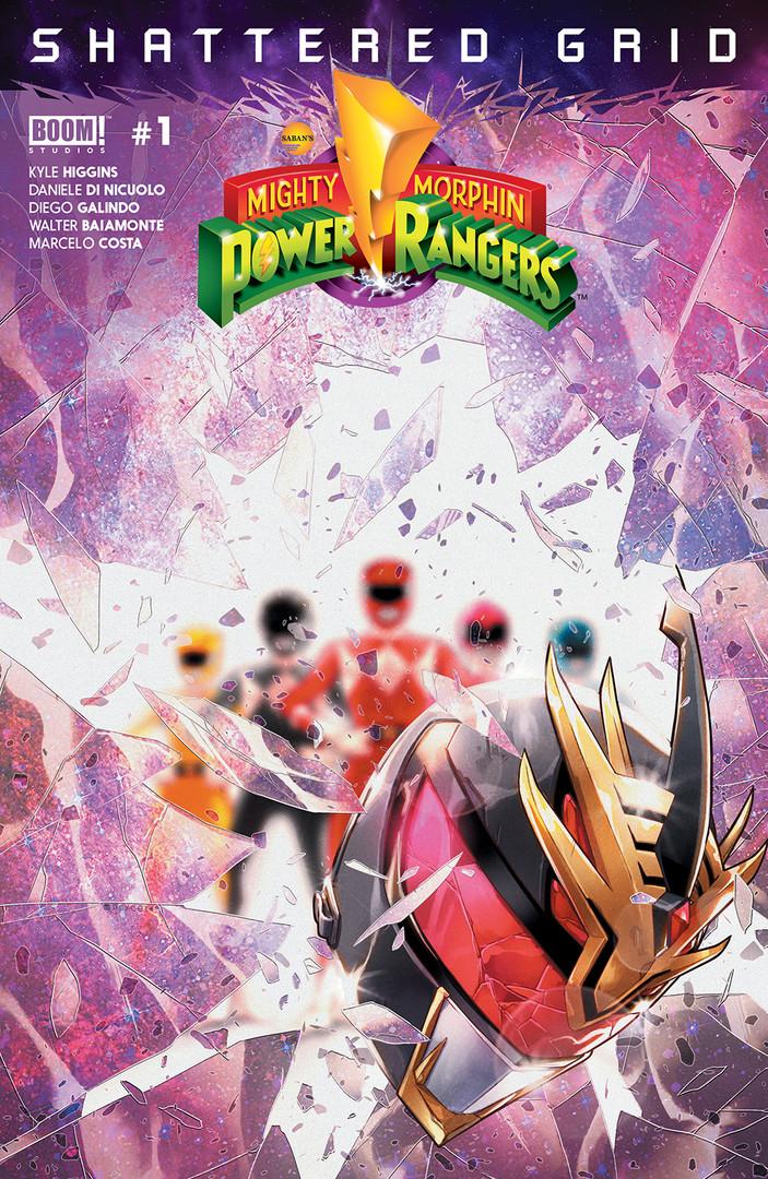 Mighty Morphin Power Rangers Shattered G