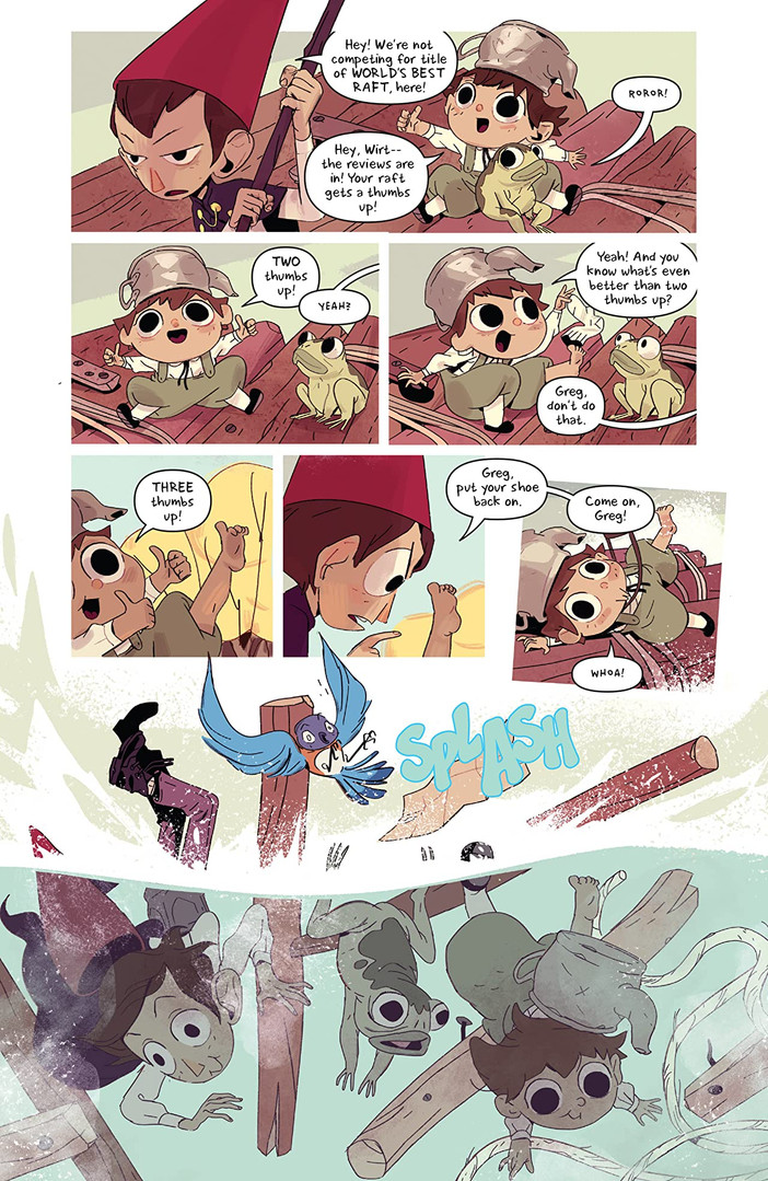 Over the Garden Wall Hollow Town Page 2.