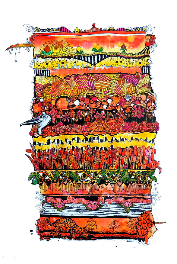 alice brown paradise illustrator