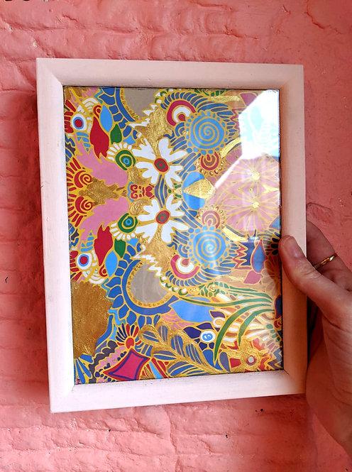 Framed Gold Ed Print