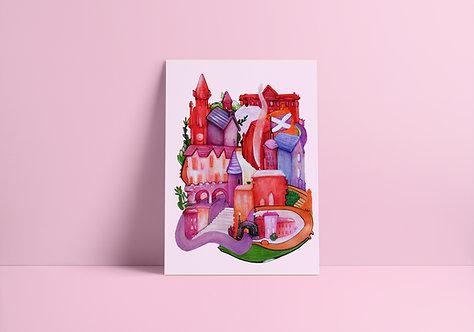 City Dreams no.1 A4 Print