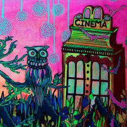 RGU Outdoor Cinema