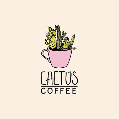 Alices Illustrations - Cactus Coffee