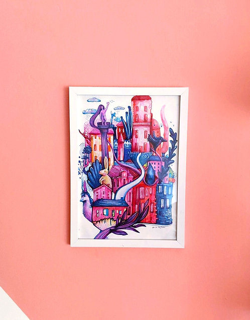 City Dreams NO.2 - Original Artwork
