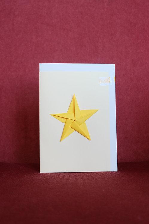 Star - Origami Card
