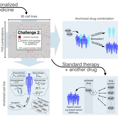 Power of crowd-sourcing drug combinations