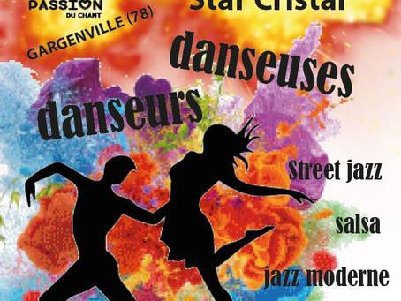 Recherche danseuses et danseurs